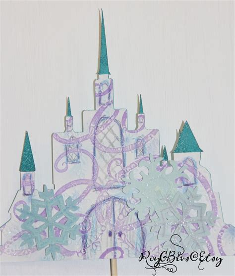 Topper Background Castle 17 best images about frozen winter onedreland decorations on