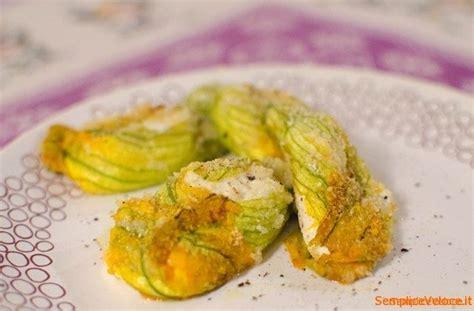fiori zucca ripieni forno fiori di zucca ripieni al forno ricetta semplice e veloce