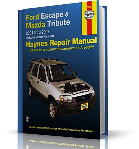 service and repair manuals 2000 ford escape electronic toll collection service manual ford escape mazda tribute mercury mariner repair manual 2001 2012 ford escape