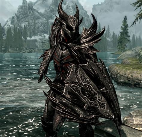 skyrim daedric armor and weapons skyrim dragon armor vs daedric armor www pixshark com