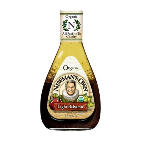 wendy s light balsamic vinaigrette newman s own organic light balsamic vinaigrette dressing