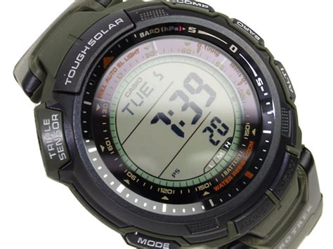 Casio Prg 110 1v Tough Solar protrek prg 110 2007 casio archive