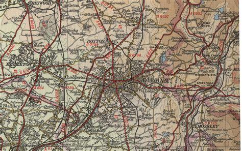map uk oldham oldham map