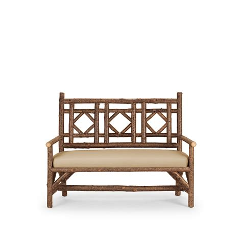 sette bench rustic settee la lune collection