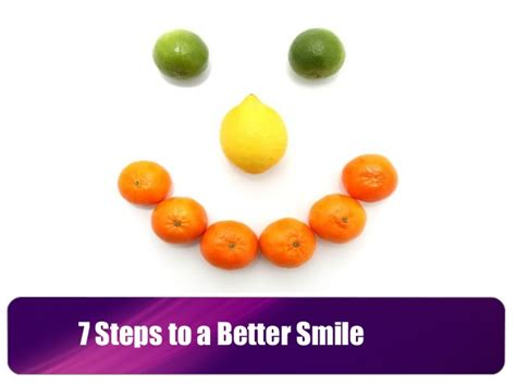 better smile 7 steps to a better smile