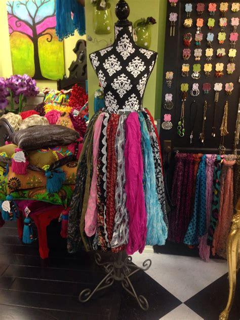 various scarf display ideas decozilla