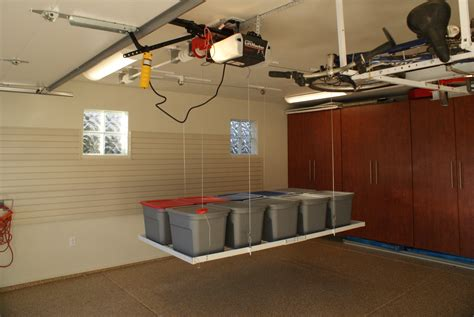 Garage Storage Motorized Power Rax Photos The Garage Organization Company Of