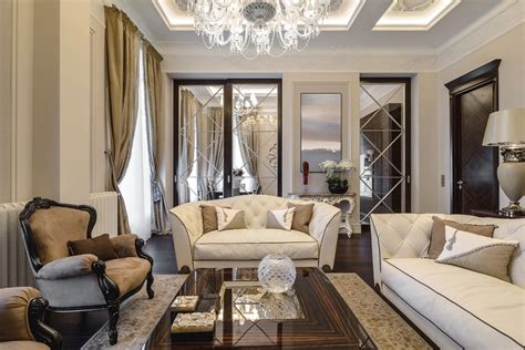 Small Sputnik Chandelier Classic Style Apartment In Ospedaletti Evoking The Italian