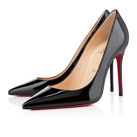Shoes Christian Louboutin Po229 decollete 554 100 black patent leather shoes christian louboutin