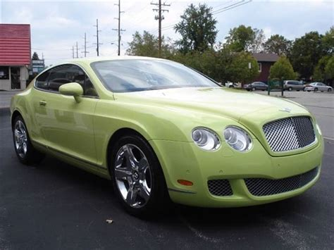 lime green bentley bentley spotting it s not easy being green