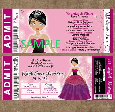 73 best quinceanera invitations styles images on