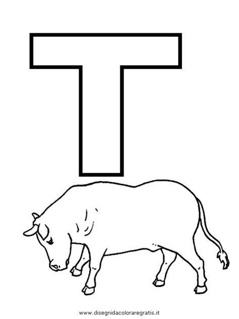 foto lettere alfabeto disegno alfabeto toro categoria alfabeto da colorare