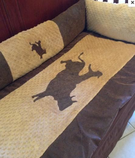vintage cowboy crib bedding bullrider cowboy baby bedding for your nursery buckin chute babies