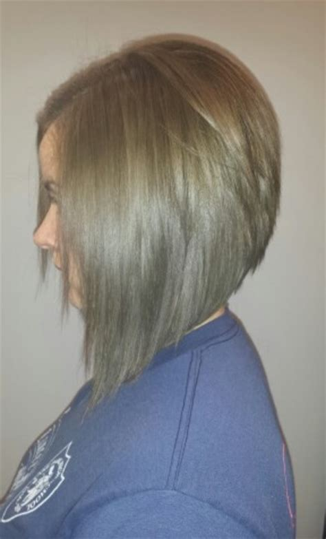 hairstyles with graduated sides graduated bob haircut back view www pixshark com