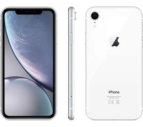 appiphxr128whi apple iphone xr 128 gb white currys pc world business