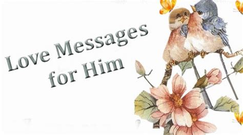 messages for him