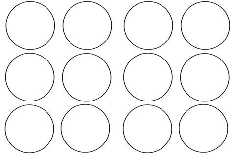 Template For Cupcake Toppers cupcake topper template owl theme circles