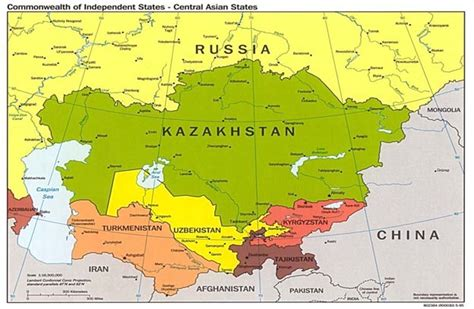 map of central asia central asia map driverlayer search engine
