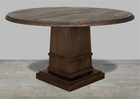 Java Dining Table 60 Quot Length In Rustic Java Dining Table