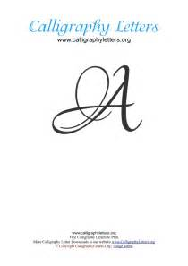 ornate calligraphy lettering a z calligraphy letters org