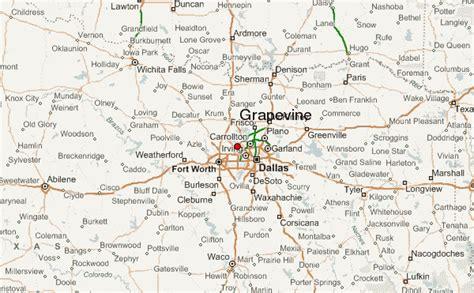 grapevine texas map grapevine location guide