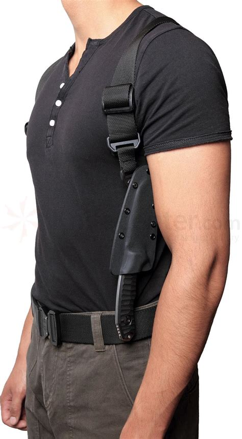 knife holster pohl shoulder harness compatible with all kydex
