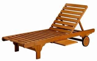 Royal tahiti yellow balau wood large chaise lounge contemporary wood