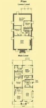 Narrow Lot Home Plans narrow lot cottage plans 1 story bungalow plans amp small cottage plans