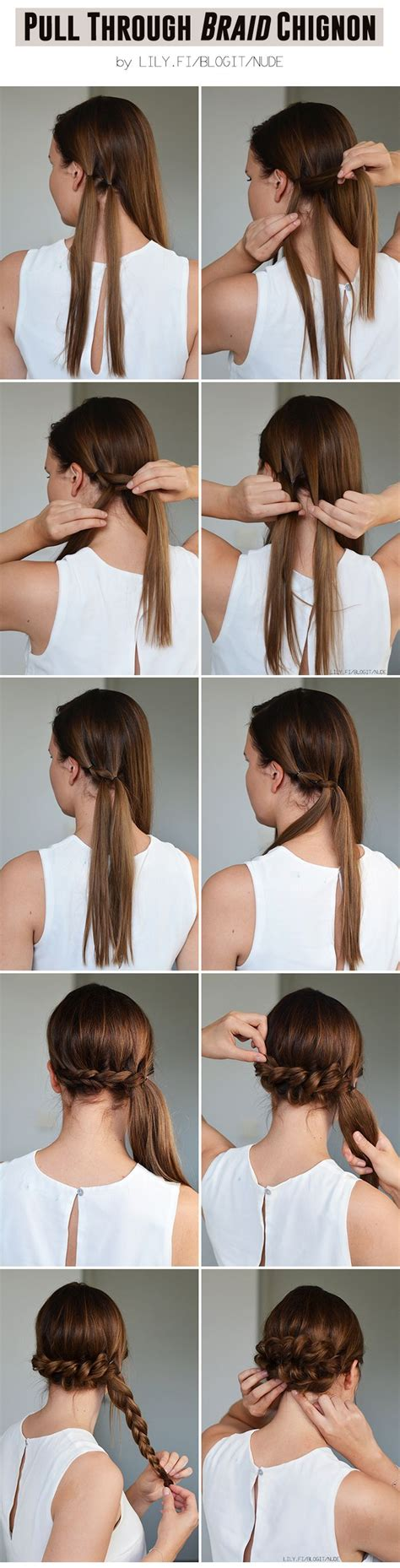 Easy Braided Hairstyles Tutorials by 22828 Best Danishaz Hair Make Up Inspirations Images On