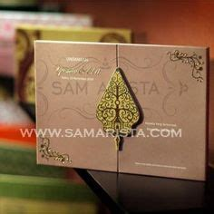 Papery Wedding Invitation Bandung by Gold Damask Brocade Muslim Wedding Card Damasks Wedding