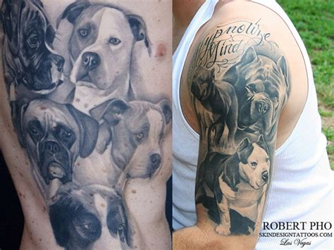 tattoo animal portraits tattoos for dogs and dog tattoo portraits dorri olds