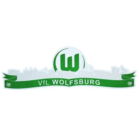 Vfb Autoaufkleber by Vfl Wolfsburg Autoaufkleber Skyline
