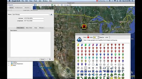 youtube tutorial google earth 3 placemark tool google earth tutorials youtube