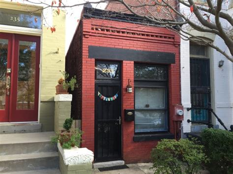 Houses For Rent In Dc by Smallest House In D C Available For Rent Wtop