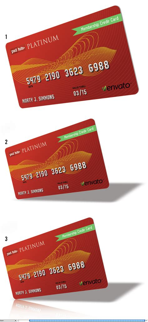 make credit card free learn free photoshop create a credit card in
