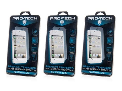 Iphone 5 5s Glass Pro Tempered Glass Front Back Antigores tempered glass scrn protector 5 5s 5c 3pk