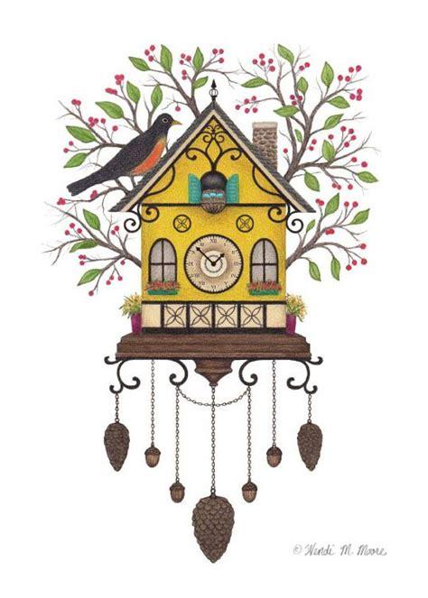 Cuckoo Clock Drawing cuckoo clock drawing