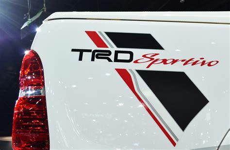 Toyota Hilux 4x4 Stickers Rear Sticker Quot Trd Sportivo Quot Decal For Toyota Hilux Vigo