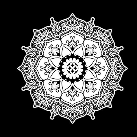 mandala coloring book chartwell books color on black coloring book mandalas synchronista