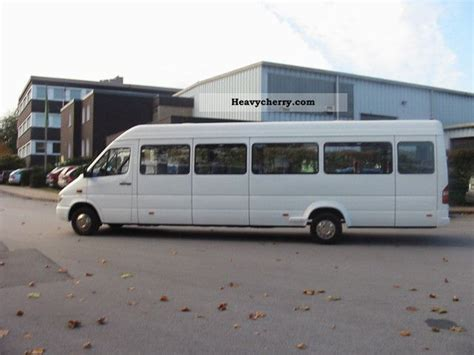 mercedes sprinter 416 cdi 25 seats with seat