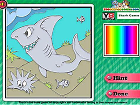 coloring at y8 play shark tales coloring y8