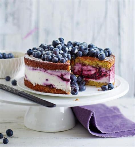 Hochzeitstorte Quark by Quark Sahne Blaubeer Torte Rezept Essen Und Trinken