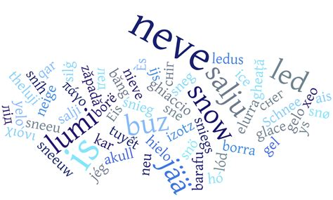 words for snow revisited languages support efficient communication about the environment