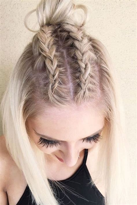 30 cute hairstyles with braids for short hair 2017 2018