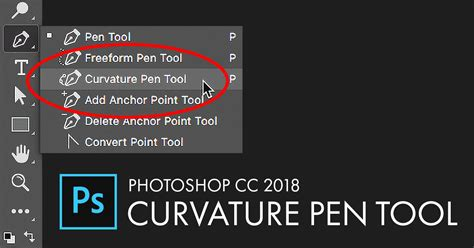 tutorial photoshop cc 2018 curvature pen tool in photoshop cc 2018 drawing paths