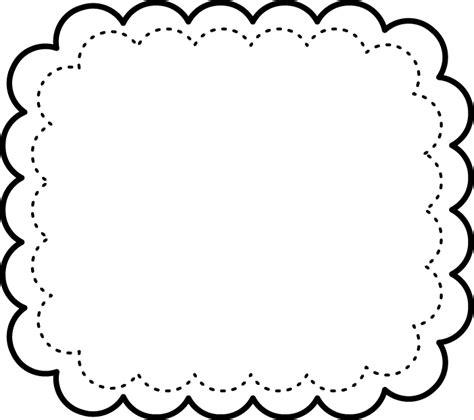 Programa Decoracion marcos en blanco y negro para imprimir gratis oh my