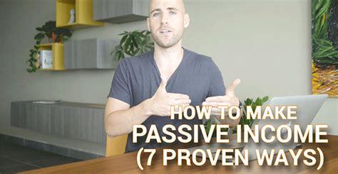 How To Make Money Online The Passive Income Business Plan - how to make passive income 7 proven ways