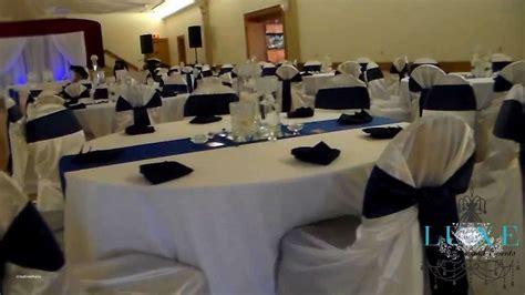 Light blue and silver wedding decorations elegant 2013