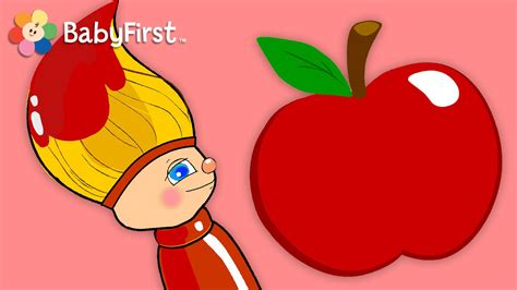 red colors for kids youtube all about red color for kids petey paintbrush