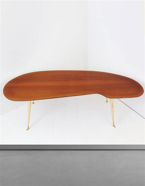 Legs For Coffee Table by Wooden Freeform Coffee Table With Brass Legs Cupio Gallery